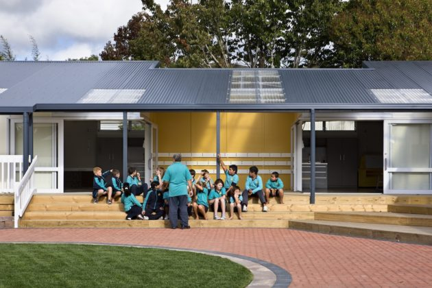 Flanshaw Rd  School Block – Malcolm Taylor and Associates